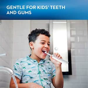 Oral-B Kids Electric Toothbrush With Sensitive Brush Head and Timer, for Kids 3+ (Product Design for $35