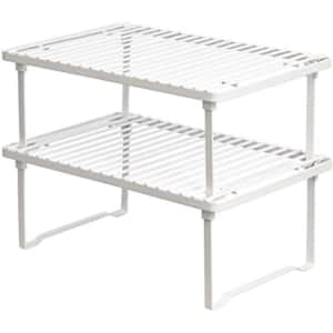 AmazonBasics Stackable Kitchen Storage Shelves for $20