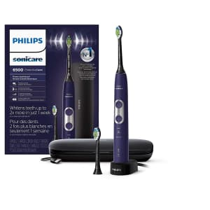 Philips Sonicare ProtectiveClean 6500 Rechargeable Electric Toothbrush for $160
