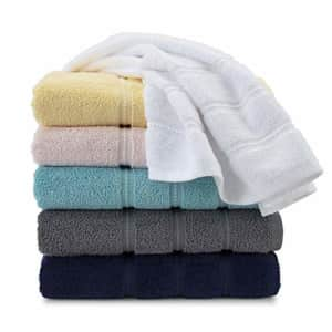 Martex Color Solutions Fashion Towels Highly Absorbent and Quick-Drying, Bath, Light Pink for $19