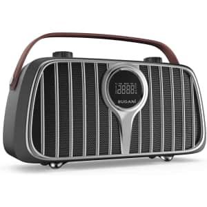 Bugani 40W Bluetooth Retro Speaker for $35