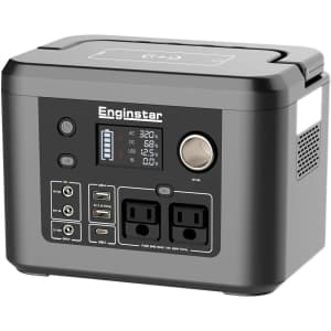 EnginStar 350W Portable Power Station for $220