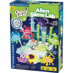 Thames & Kosmos Ooze Labs: Alien Slime Lab for $14