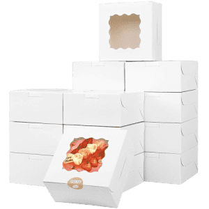 QZQ Small Pastry Box 50-Pack for $19