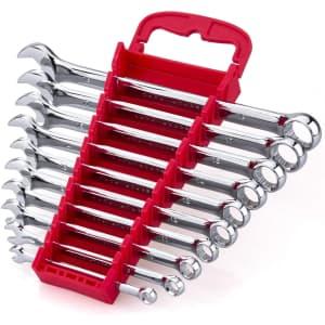 Efficere 10-Piece Max Torque Premium Combination Wrench Set for $20