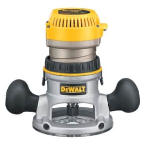DEWALT Router, Fixed Base, 1-3/4-HP (DW616) for $124