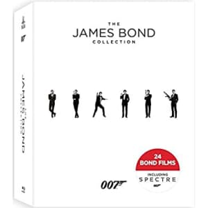 The James Bond Collection on Blu-ray for $76