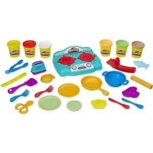 Play-Doh Kitchen Creations Stovetop Super Playset for $20