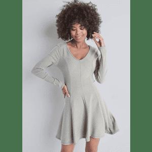 Venus Women's Ribbed Skater Dress for $23