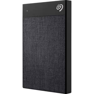 Seagate Backup Plus Ultra Touch 1TB USB 3.0 Portable Hard Drive for $63