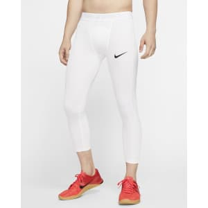 Nike Men's Pro 3/4 Compression Tights for $26