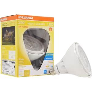 Sylvania Ultra LED Night Chaser 250-Watt Equivalent Lightbulb for $16