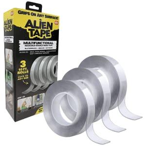 Bell+Howell Alien Tape Nano Double Sided Tape 3-Pack for $19