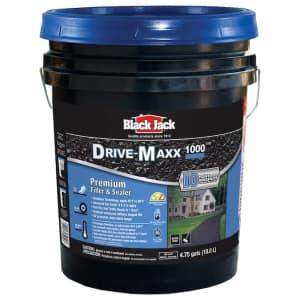 BlackJack Black Jack Drive-Maxx 1000 4.75-Gal. Asphalt Driveway Sealer for $33