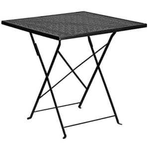 Flash Furniture 28'' Square Steel Folding Patio Table for $69