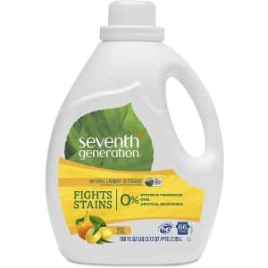 Seventh Generation 100-oz. Liquid Laundry Detergent: 3 for $26 in cart