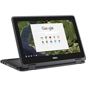 """2021 Dell 11.6"""" Convertible 2-in-1 Touchscreen Chromebook, Intel Celeron Processor Up to 2.48GHz, for $200"""