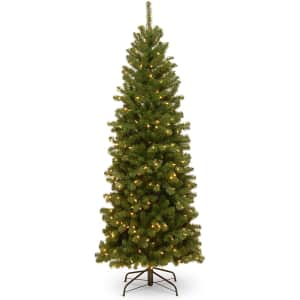 National Tree Company 6-Ft. North Valley Spruce Pre-Lit Tree for $83