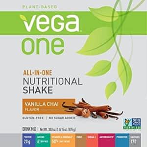 Vega One All-In-One Nutritional Shake Vanilla Chai (20 Servings) - Plant Based Vegan Protein for $68