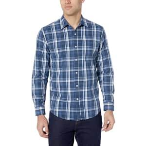 Amazon Essentials Men's Poplin Shirt for $16