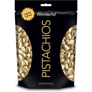 Wonderful Pistachios Roasted Pistachios 16-oz. Bag for $5.69 via Sub & Save
