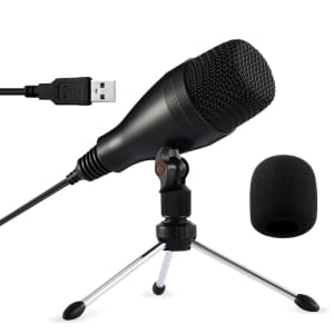 Moukey USB Microphone for $8