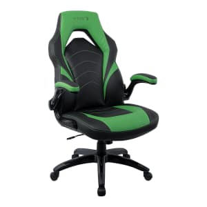 Staples Emerge Vortex Bonded Leather Gaming Chair for $130