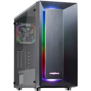 Abkoncore ATX Mid-Tower PC Gaming Case for $116