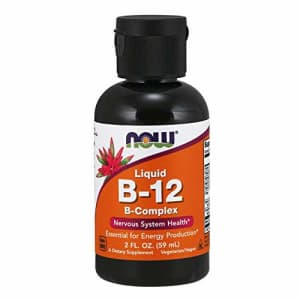 Now Foods NOW Supplements, Vitamin B-12 Complex Liquid, Energy Production*, Nervous System Health*, 2-Ounce for $15
