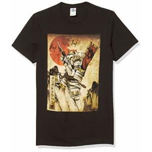 STAR WARS Men's T-Shirt, Black, XXX-Large for $20