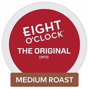 Eight O'Clock Coffee The Original, Single-Serve Keurig K-Cup Pods, Medium Roast Coffee, 72 Count for $37
