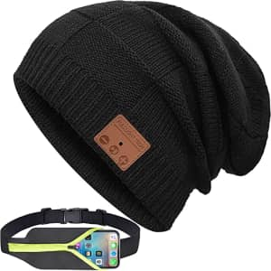 FullLight Tech Bluetooth Beanie w/ Running Belt for $8