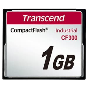 Transcend Cf300 Cf Card, 1gb Compact Flash Card for $66