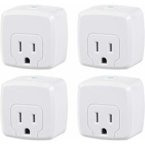 HBN Mini Smart WiFi Plug 4-Pack for $27