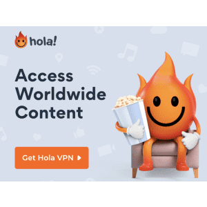 Hola VPN 1-Year Plan: Extra 50% off, $3.84 per month