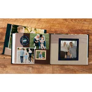 """Shutterfly 8""""x 8"""" 20-Page Hard Cover Photo Book for $5"""