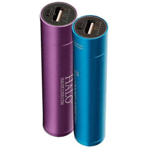 Halo Pocket Power 2,800mAh Compact Charger 2-Pack for $8