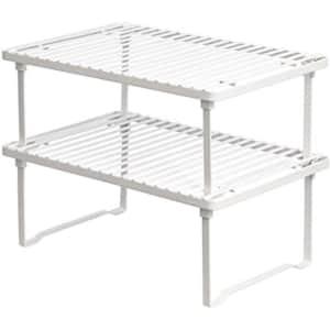 Amazon Basics Stackable Kitchen Storage Shelves for $15