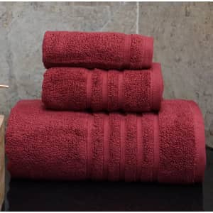 Hotel Collection Ultimate Micro Cotton 20th Anniversary 3-Piece Bath Towel Set for $21