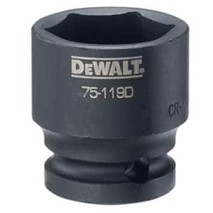"""DEWALT 1/2"""" Drive Impact Socket 6 PT 1"""" for $5"""