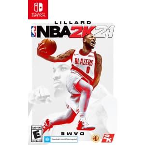 NBA 2K21 for Nintendo Switch: $4.79