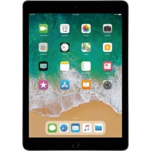 "Apple iPad 9.7"" 32GB WiFi + Cellular Tablet for $200"