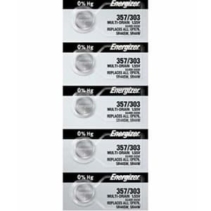 10 Energizer 357/303 Multi-Drain Zero Mercury Batteries for $13