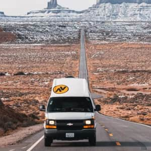 5-Day Campervan Rental from Las Vegas or LA at Groupon: for $495