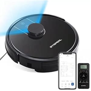 Sysperl X60 WiFi Robot Vacuum & Mop for $130