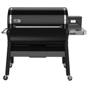 Weber SmokeFire EX6 2ND GEN Wood Pellet WiFi Grill for $999