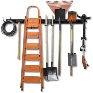 Wallmaster 15-Piece Tool Storage Rack for $60 in cart