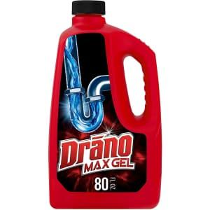 Drano Max Gel Drain Clog Remover 80-oz. Bottle for $4.57 via Sub. & Save