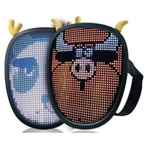 Mini Programmable Bluetooth LED Mask w/ Watch Control for $52