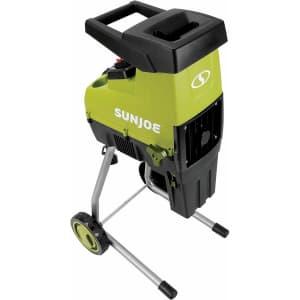 Sun Joe 15A Electric Silent Wood Chipper / Shredder for $177